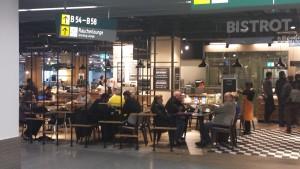 Flughafen bistro dssd